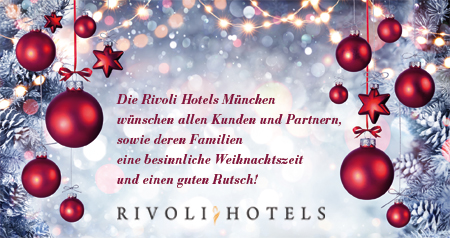 rivoli hotels m nchen weihnachtsgr e. Black Bedroom Furniture Sets. Home Design Ideas